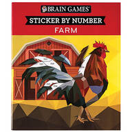 Brain Games® Sticker-By-Number Great Outdoors Books