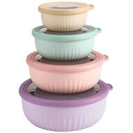 Cap Tight Deluxe Storage Containers Set of 4