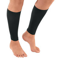 Silver Steps™ Calf Compression Sleeves, 20-30 mmHg, 1 Pair