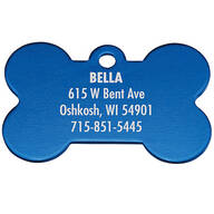 Personalized Bone-Shaped Pet Tag