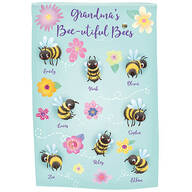 Personalized Beautiful Bees Garden Flag
