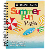 Brain Games® Summer Fun Puzzles Book