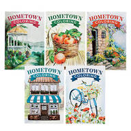 Hometown Coloring Books, Set of 5