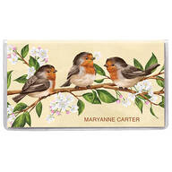 Personalized 2 Year Planner Spring Time Birds