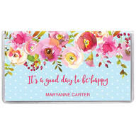 Personalized 2 Year Planner Floral Dots