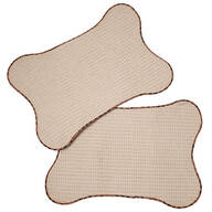 Bone-Shaped Pet Mats, Set of 2