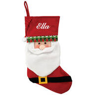 Personalized Santa Stocking by Holiday Peak™