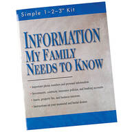 """Information My Family Needs to Know"""