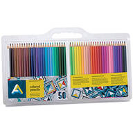 Colored Pencils, Set of 50