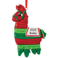 Personalized Christmas Pinata Ornament