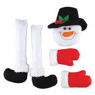 Snowman Wreath Kit