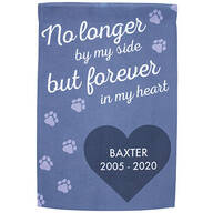Personalized Pet Memorial Garden Flag