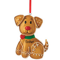 Personalized Pet Gingerbread Ornament