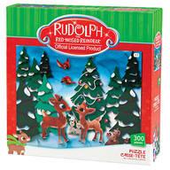 Rudolph & Clarice 300 Pc Puzzle