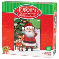 Rudolph & Santa 300 Pc Puzzle
