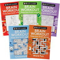 Brain Games® Brain Workout Minis Set of 5