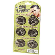 Mind Twisters™ Puzzles, Set of 6
