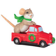 "Charming Tails® ""Truckin' to a Happy Holiday"""