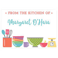 Personalized From the Kitchen of Labels Set of 60