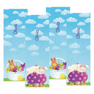 Personalized Children's Easter Bookmarks, Set of 4