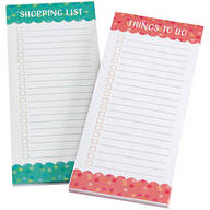 Get Organized Notepads, Set of 2