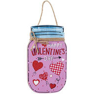 Valentine's Day Mason Jar Wall Hanging by Holiday Peak™