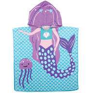 Children's Mermaid Hooded Towel
