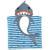Children's Shark Hooded Towel