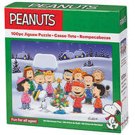 Peanuts® Oh Christmas Tree Puzzle, 100 pieces