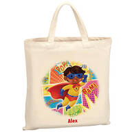 Personalized Boy Superhero Tote