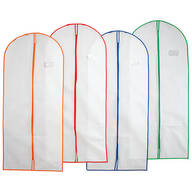 Breathable Garment Bags, Set of 4