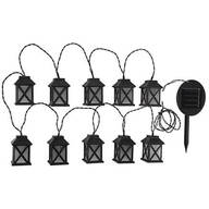 Color-Changing Solar Lantern 10 Count String Light Set