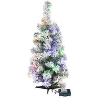 2' Color-Changing Flocked Tree Holiday Peak™