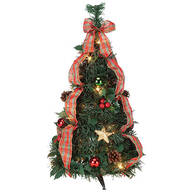 2' Plaid Pull-Up Tree by Holiday Peak™