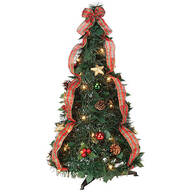 3' Plaid Pull-Up Tree by Holiday Peak™