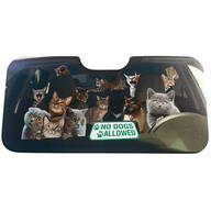 Animal Auto Sunshade