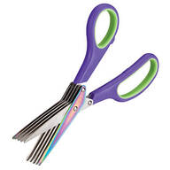 Titanium Rainbow Shredding Scissors
