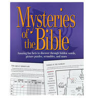Mysteries of the Bible Puzzle Book