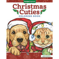 Christmas Cuties Coloring Book