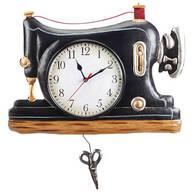 Vintage Pendulum Clock Sewing Machine