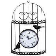 Bird Wire Metal Wall Clock
