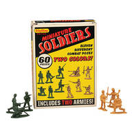 Retro Mini Soldiers Set of 60