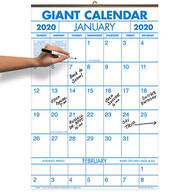 2 Year Giant Calendar 2020-2021