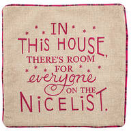 Holiday Nice List Decorative Cover