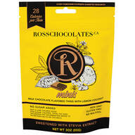 Ross Chocolates Sugar Free Milk Chocolate with Lemon Coconut
