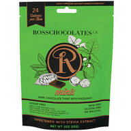 Ross Chocolates Sugar Free Dark Chocolate with Hazelnut Mini