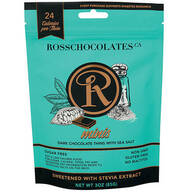 Ross Chocolates Sugar Free Dark Chocolate with Sea Salt Mini
