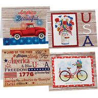 Patriotic Note Cards Set of 20