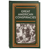 Great American Conspiracies Hardcover Book 272 Pages