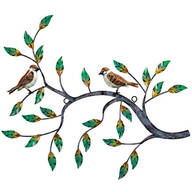 Nature's Bird Tree Branch Wall Décor